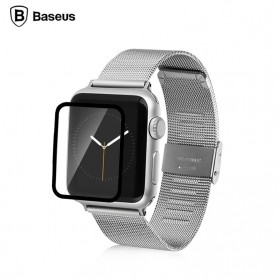 Baseus Full Cover 0.15mm Tempered Glass for Apple Watch 42mm Series 1/2/3