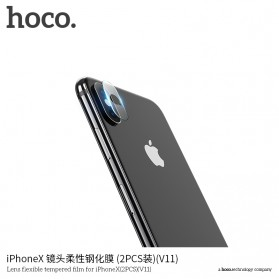 HOCO Tempered Glass Lens Protector Lensa Kamera iPhone X/Xs/Xs Max - V11 - 2