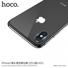 HOCO Tempered Glass Lens Protector Lensa Kamera iPhone X/Xs/Xs Max - V11 - 3