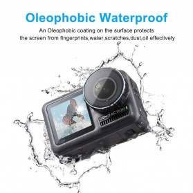 TELESIN Anti Gores Camera Lens & LCD Screen Protector 1 Set for DJI Osmo Action - OS-TFM-002 - 2