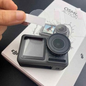 TELESIN Anti-gores Camera Lens And LCD Screen Protector For DJI Osmo Action - OS-TFM-002 - 6