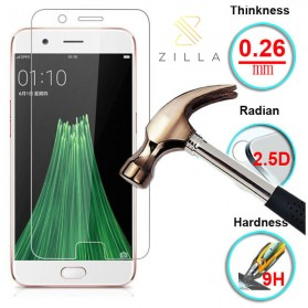 Zilla 2.5D Tempered Glass Curved Edge 9H 0.26mm for Oppo R11