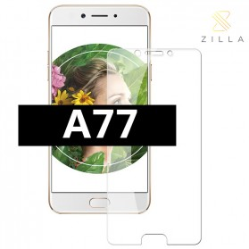 Zilla 2.5D Tempered Glass Curved Edge 9H 0.26mm for Oppo A77 Mediatek