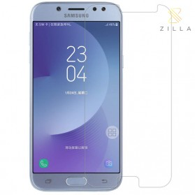 Zilla 2.5D Tempered Glass Curved Edge 9H 0.26mm for Samsung Galaxy J7 2017