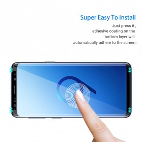 Zilla 2.5D Tempered Glass Curved Edge 9H 0.26mm for Samsung Galaxy S9 Plus - Transparent - 2