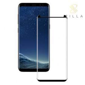 Zilla 3D Tempered Glass Curved Edge 9H Large Hole for Samsung Galaxy S9 Plus - Black