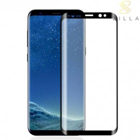 Zilla 3D Tempered Glass Curved Edge 9H Small Hole for Samsung Galaxy S9 Plus - Black