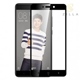 Zilla 3D Tempered Glass Curved Edge 9H 0.26mm for Xiaomi Redmi 4X - Black