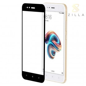 Zilla 3D Tempered Glass Curved Edge 9H 0.26mm for Xiaomi Mi5X - Black
