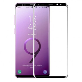 Zilla 3D Full Cover Tempered Glass Curved Edge 9H for Samsung Galaxy S9 - Black