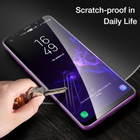 Zilla 3D Full Cover Tempered Glass Curved Edge 9H for Samsung Galaxy S9 - Black - 3