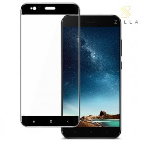 Zilla 3D Tempered Glass Curved Edge 9H 0.26mm for Xiaomi A1 / 5X - Black