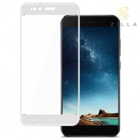 Laptop / Notebook - Zilla 3D Tempered Glass Curved Edge 9H 0.26mm for Xiaomi A1 / 5X - White