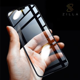 Zilla 3D Tempered Glass Curved Edge 9H 0.26mm for OnePlus 6 - Black
