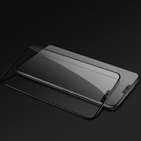 Zilla 3D Tempered Glass Curved Edge 9H 0.26mm for OnePlus 6 - Black - 3