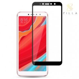 Zilla 3D Tempered Glass Curved Edge 9H 0.26mm for Xiaomi Redmi S2 - Black