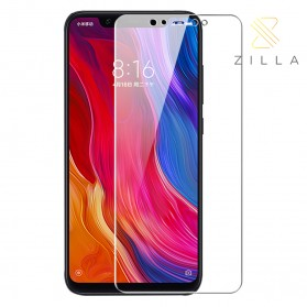 Zilla 2.5D Tempered Glass Curved Edge 9H 0.26mm for Xiaomi Mi8