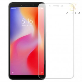 Zilla 2.5D Tempered Glass Curved Edge 9H 0.26mm for Xiaomi Redmi 6