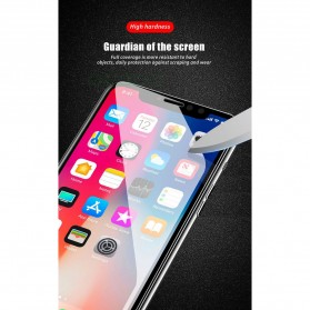 Zilla 6D Tempered Glass Curved Edge 9H 0.26mm for iPhone XS - Black - 9