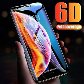 Zilla 6D Tempered Glass Curved Edge 9H 0.26mm for iPhone XS Max - Black