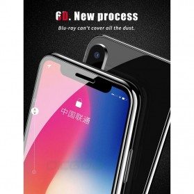 Zilla 6D Tempered Glass Curved Edge 9H 0.26mm for iPhone XS Max - Black - 6
