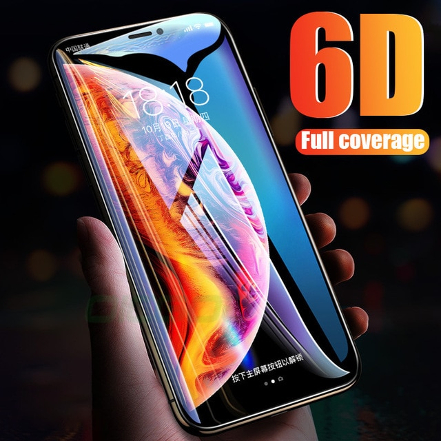 Zilla 6d Tempered Glass Curved Edge 9h 0 26mm For Iphone Xs Max