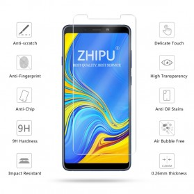 Zilla 2.5D Tempered Glass Curved Edge 9H 0.26mm for Samsung Galaxy A9 2018 - 1