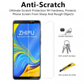 Zilla 2.5D Tempered Glass Curved Edge 9H 0.26mm for Samsung Galaxy A9 2018 - 3