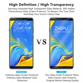 Zilla 2.5D Tempered Glass Curved Edge 9H 0.26mm for Samsung Galaxy A9 2018 - 5