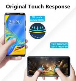 Zilla 2.5D Tempered Glass Curved Edge 9H 0.26mm for Samsung Galaxy A9 2018 - 6