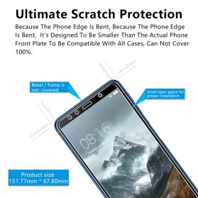 Zilla 2.5D Tempered Glass Curved Edge 9H 0.26mm for Samsung Galaxy A7 2018 - 6