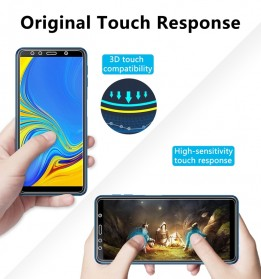 Zilla 2.5D Tempered Glass Curved Edge 9H 0.26mm for Samsung Galaxy A7 2018 - 8