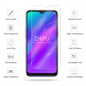 Zilla 2.5D Tempered Glass Curved Edge 9H 0.26mm for Realme 3 - 2