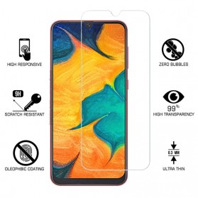 Zilla 2.5D Tempered Glass Curved Edge 9H 0.26mm for Samsung Galaxy M20 - 2