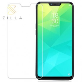 Zilla 2.5D Tempered Glass Curved Edge 9H 0.26mm for Realme C1 - 1