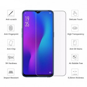 Zilla 2.5D Tempered Glass Curved Edge 9H 0.26mm for Oppo R15x - 2