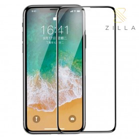 Laptop / Notebook - Zilla 4D Tempered Glass Curved Edge 9H 0.3mm for iPhone XS Max / iPhone 11 Pro Max - Black