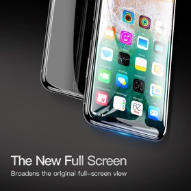 Zilla 4D Tempered Glass Curved Edge 9H 0.3mm for iPhone XR - Black - 3