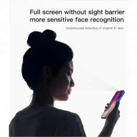 Zilla 4D Tempered Glass Curved Edge 9H 0.3mm for iPhone XR - Black - 8