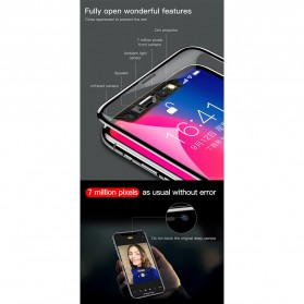 Zilla 4D Tempered Glass Curved Edge 9H 0.3mm for iPhone XR - Black - 9
