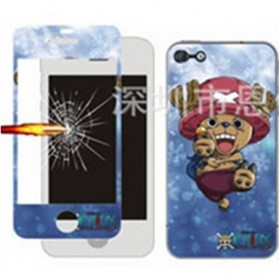 Tempered Glass and Painted Phone Case for iPhone 6 - 014