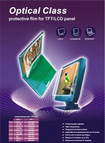 Protective Film for LCD Panel Size 12.1 Inch WIDESCREEN 260 x163 mm - 3