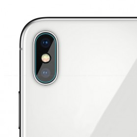 Soft Tempered Glass Lensa Kamera iPhone X
