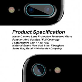 Soft Tempered Glass Lensa Kamera Samsung Galaxy S8 - 3