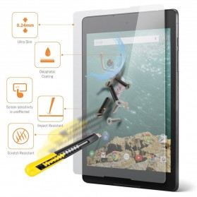 Zilla 2.5D Tempered Glass Curved Edge 9H 0.26mm for Google Nexus Tablet - 3