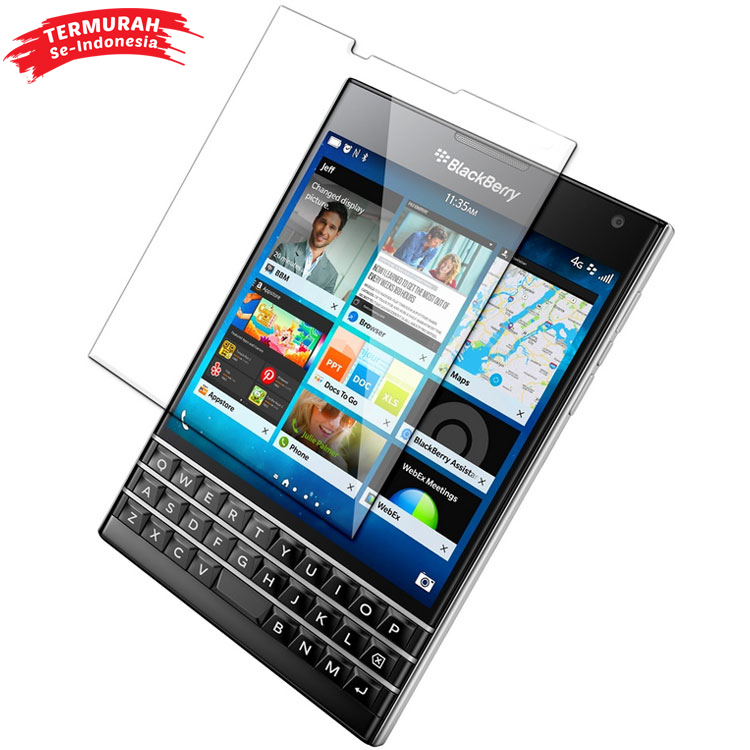 Zilla 2 5D Tempered Glass Curved Edge 9H 0 26mm for Blackberry Passport