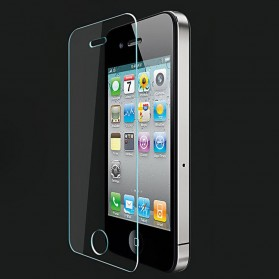 Zilla 2.5D Tempered Glass Curved Edge 9H 0.26mm for iPhone 4/4s - 3
