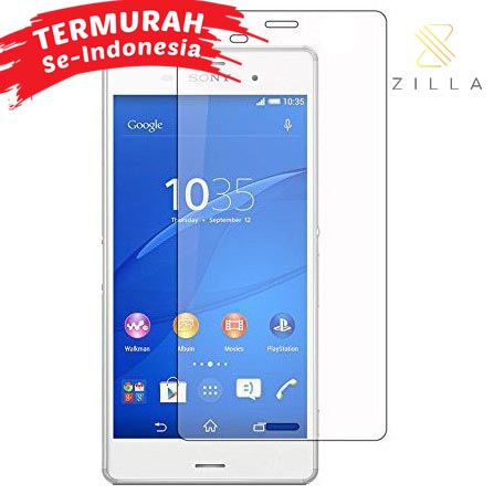 ... Zilla 2.5D Tempered Glass Curved Edge 9H 0.26mm for Sony Xperia Z3 - 1 ...