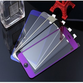 Tempered Glass and Phone Case for iPhone 6 - Purple