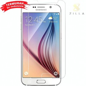 Zilla 2.5D Tempered Glass Curved Edge 9H 0.26mm for Samsung Galaxy S6 - White